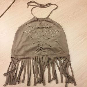 Charlotte Russe halter top - NWT